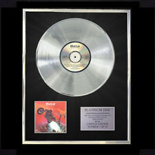 MEAT LOAF BAT OUT OF HELL CD PLATINUM DISC FREE P+P!!