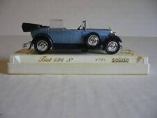 Solido Blue 1929 Fiat 525 N #4154 1/43 Scale Die Cast Car