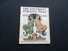 1930 MAY 10 THE SATURDAY EVENING POST MAGAZINE - ILLUSTRATED COVER -SP 1376