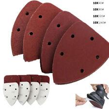 40 X Mouse Sanding Sheets Black and Decker Detail Mouse Palm Sander Sandpaper