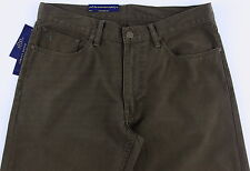 Men's POLO RALPH LAUREN Olive Green Jean-Style Pants 31x30 NWT NEW Straight Fit