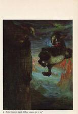 """1959 Vintage EMIL NOLDE """"BEFORE SUNRISE"""" GORGEOUS COLOR Offset Lithograph"""
