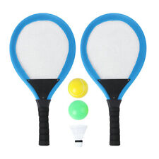 2 Stück Tennisschläger für Kinder Badmintonschläger Tennisgeräte Federballset