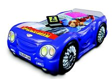 Race Car Car Bed With Mattress Kid's Bed Car Bed Kid's Room Blue Beds