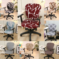 Stretch Removable Home Office Chair Cover Computer Armchair Seat Slipcover