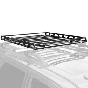 Elevate Outdoor Slim Low-Profile Car Roof Rack Camping Cargo Basket