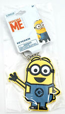 NEW Universal Studios Despicable Me Minion Made - Waving Keychain