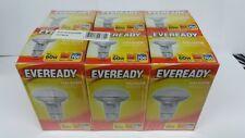 6 X R63 60 WATT ES  REFLECTOR SPOT LAMP BULBS BY EVERREADY