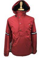 Vtg Reebok Mens Pullover Windbreaker Jacket 1/2 Half Zip Logo 90s Syle Sz Medium
