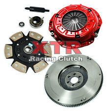 XTR STAGE 3 CLUTCH KIT & FLYWHEEL for 1989-1995 TOYOTA PICKUP 4RUNNER 2.4L 22RE