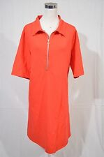 ASOS Size 24W Woman Red Modest Elbow Sleeve Shirt Dress