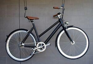 ECOSMO Step Through Electric Bike / 250W / BLACK / 1 Yr Warranty / Free Delivery