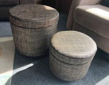 Storage/foot stools