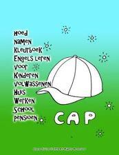 Hoed Namen Kleurboek Engels Leren Voor Kinderen Volwassenen Huis Werken...