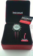 INSIGNUM SCORPIUS Quarz Chronograph FULL SET rot limited limitiert HAU gents