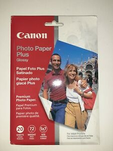 Canon Photo Paper Plus Glossy PP101 5x7 20 Sheets
