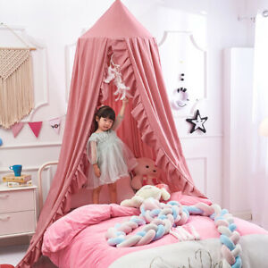 Nordic Kids Crib Canopy Mosquito Net Bedcover Baby Bed Curtain Bedding Dome Tent