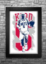 New listing JASON KIDD art print/poster NEW JERSEY NETS FREE S&H! JERSEY
