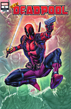DEADPOOL #1 2019 ROB LIEFELD RARE VARIANT NM+ W/LTD/NUMBERED COA  IN STOCK NOW