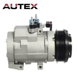 AC Compressor with Clutch A/C for CO 10905C Ford F-150 F-350 F-450 F-550 Lobo