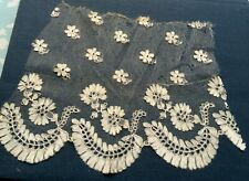 Rare Antique Highly Collectible Handmade Silk Blonde Bobbin Lace Trim