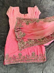 Punjabi Suit With Patiala Salwar Heavy Dupatta