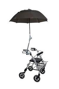 Rollatorschirm OLIVE Regenschirm Sonnenschirm Schirm inkl. Befestigung