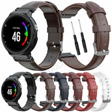 For Garmin Forerunner 220 230 235 620 630 735XT Strap Sports Leather Band