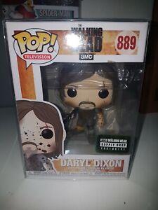 Daryl Dixon Muddy Funko The Walking Dead supply Drop Exclusive 889 in protector