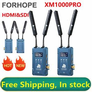 FORHOPE XM1000PRO 300m Dual SDI HDMI Wireless Transmitter Receiver 1080P Type-C