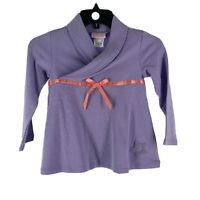Bitty Baby by American Girl Girl's Purple Long Sleeve Sweater Size 6 NEW