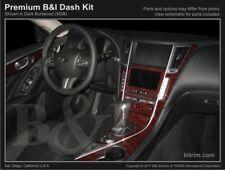 Dash Trim Kit for INFINITI Q50 14 15 16 17 carbon fiber wood aluminum