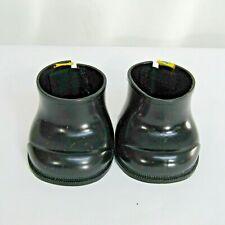 Build a Bear Workshop Black Rubber Boots Shoes Santa Soldier Uniform Rain