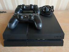 Sony PlayStation 4 PS4 schwarz, CUH-1216B mit 1TB Festplatte inkl. 2 Controller