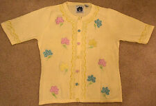 """Storybook Knits """"Gingham Garden"""" w/ Beads - BRAND NEW!"""