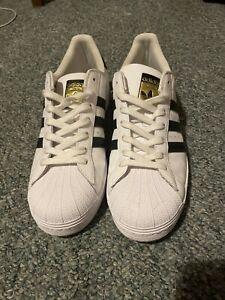 Adidas Originals Men's Superstar Sneaker - White/Black - US Size 10.5
