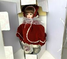 New - 1994 Little Red Riding Hood Doll Franklin Mint Heirloom by Maryse Nicole