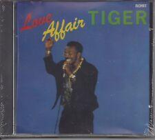 "TIGER  ""Love Affair""  NEW SEALED REGGAE CD"