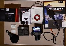 Sony Cyber-shot DSC-RX100M4 20.1 MP Digitalkamera - Schwarz