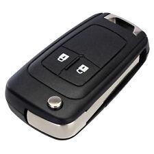 2 Button Flip Key Remote Case Shell Fob for Chevrolet Cruze Volt Sonic 2011-2013