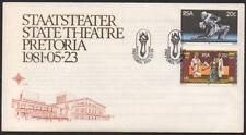 """1981, RSA """"State Theatre, Pretoria"""" illustrated unaddressed FDC."""