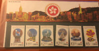 Hong Kong Special Administrative Region. Four Souvenir Stamp Sets MNH . 1997...