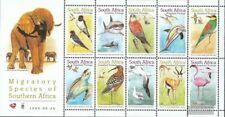 Zuid-Afrika 1232-1241 Velletje (compleet Kwestie) postfris MNH 1999 Wandertiere