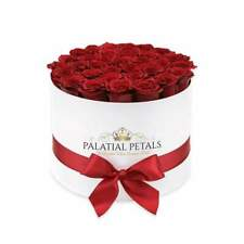Roses That Last A Year! Preserved Rose Box Flower Bouquet Artificial Decoration