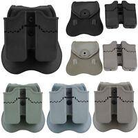 Double Magazine Pouch Holster for Glock 17 19 22 23 26 27 31 32 34 35 37 38 39