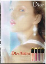 Publicité Advertising 2006 Cosmétique maquillage Dior Addict