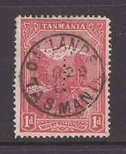 New listing Tasmania: 1d Pictorial Perf T Superb Used!