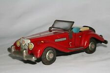 1950's MG TF, Made in Japan Tin Friction Car, Nice Original