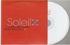 FRANCOISE HARDY / ALAIN SOUCHON soleil CD PROMO