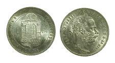 pcc1350_3) Österreich  Ungheria Florin Fiorino  1879 FERENCZ I TONED